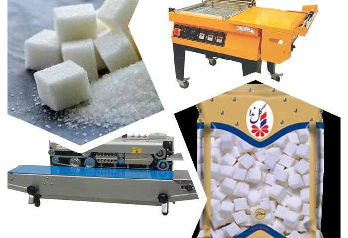 فروش دستگاه بسته بندی قند و شکر - 23 85 63 55 021 - دستگاه بسته بندی قند و شکر خانگی